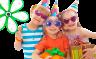Кризисный центр приглашает ребят на детский праздник