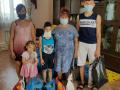 Специалисты кризисного центра «С верой в жизнь!» реализуют проект вещевой и продовольственной помощи многодетным и малоимущим семьям 4-х районов Саратовской области